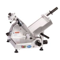 Globe Food Alum Medium Duty Manual Slicer w/ Ball-Bearing Chute Slide