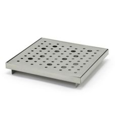 "Front Of The House® BPT036BSS22 6"" Footed Drip Tray - 6 / CS"