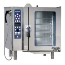Pressureless Convection Gas CombiOven w/ Deluxe Controls, 10-10ESG/DLX