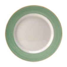"Steelite 15290336 Rio Green 10.6"" Service / Chop Plate - 24 / CS"