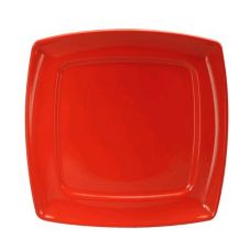 "Oneida® Stealth™ Aztec Red 8"" Square Plate"