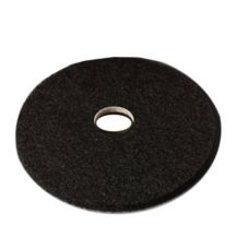 "3M™ 7200-20 Black 20"" Floor Stripping Pad - 5 / CS"