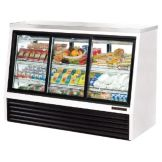True TSID-72-6 Pass-Thru Single-Duty Refrigerated 24 Cu Ft Deli Case
