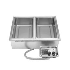 APW Wyott HFW-23D Electric Insulated Drop-In Hot Food Well w/ EZ-Lock