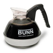 BUNN® 6100.0101 Easy Pour 64 Oz. Black Coffee Decanter - 1 / PK