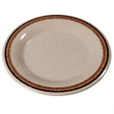 "Carlisle® 43019908 Durus 6-1/2"" Sierra Sand Plate - 48 / CS"