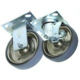 "Alto-Shaam 5008017 (4) 3-1/2"" Stem Casters for 1200-UP Cabinet"