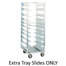 Metro® A121 4 Extra Tray Rack Slides For RF78N Mobile Rack