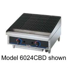 "Star® 6015CBF Star-Max® Lava Rock Gas 15"" Char-Broiler"