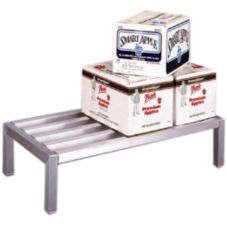 "New Age Industrial 12X12X18 Aluminum 12 x 12 x 18"" Dunnage Rack"