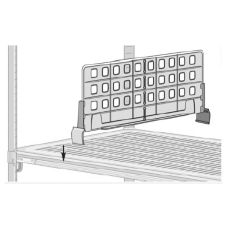 "Metro® MQD18-8 MetroMax Q® 18"" x 8"" Shelf Divider"