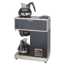 BUNN® 33200.0002 VPR Black Coffee Brewer with Pourover