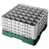 """Cambro 36S900119 Sh. Green 36 Comp 9-3/8""""  Full Size Cambro - 2 / CS"""