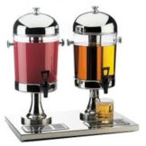 Cal-Mil® 155 4 Gallon Dual Beverage Dispenser