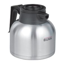 BUNN® 40163.01 64 Oz. Thermal Carafe with Brew-Thru Lid - 12 / CS