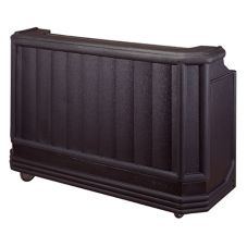 Cambro®  BAR730110 Cambar® Black Economy Large Portable Bar