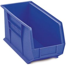 "Metro® MB30265B Super Erecta® Blue 18"" x 8-1/4"" Stacking Bin"