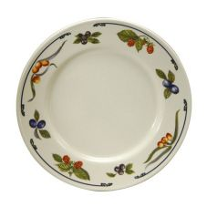 "Oneida® F1000062148 Autumn Orchard 10-1/8"" Plate - 12 / CS"