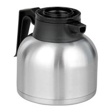 BUNN® S/S 64 Oz Economy Thermal Carafe with Black Lid