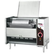 APW Wyott M-95-2FD Electric Vertical Conveyor Bun Grill Toaster