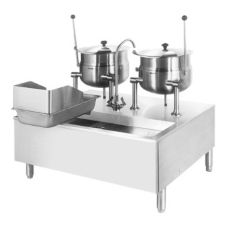 Cleveland Range SD1600K620 Kettle Cabinet with (2) Direct Steam Kettles