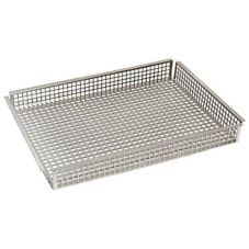 Cadco COB-Q 1/4-Size Stainless Steel Oven Basket