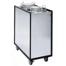 APW Wyott HML2-9A/12A Two Tube Lowerator Adjustube II Dish Dispenser