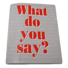 "Kopykake® ""What Do You Say"" Cake Book"