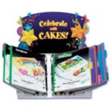 Counter Display Stand w/ Laminated Cake Cards