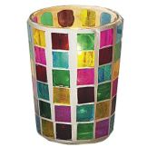 SternoCandleLamp™ 80280 Mini Mosaic Votive Glass