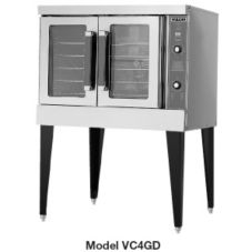 Vulcan Hart VC4GC S/S Single Deck Natural Gas Standard Convection Oven