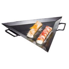 "American Metalcraft G777 19-1/2"" Triangular Iron Griddle f/ GST77"