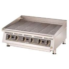 "Star® 8036CBA Ultra-Max™ 36"" Lava Rock Gas Char-Broiler"