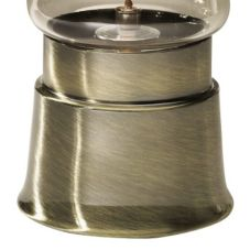 Sterno Products® 85228 Weathered Brass Sleeve Lamp Base