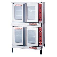 Blodgett Electric Convection Double Deck Oven w/ 2 Base Sections