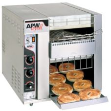 APW Wyott BT-15-2 BagelMaster Electric Toaster with 2&quot Opening