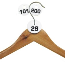 Cal-Mil 869-1 Break Resistant Number 101 to 200 Coat Check Tags