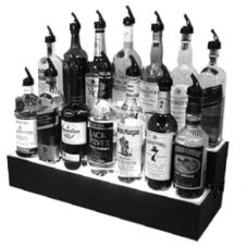 "Glastender LLDS-48L Two Tier 48"" Liquor Display"