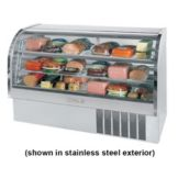 Beverage-Air CDR6/1-W-20 Marketeer White Refrigerated Display Case