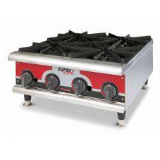 APW Wyott GHP-4I Champion Gas (4) 30000 BTU Burner Hot Plate