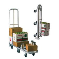 New Age Industrial 95241 Folding Stock Cart with Push Handle and Lock