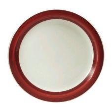 Oneida R4128079150 Jubilee Raspberry 10-3/8 In Ivory / Plate - 12 / CS