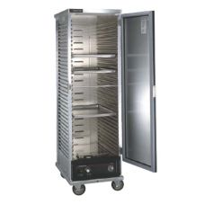 Cres Cor® Non-Insulated Mobile Cabinet w/ Bottom Mounted Heater