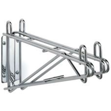 "Metro® 2WD24S Super Erecta® Wall Mount 24"" S/S Shelf Supports"