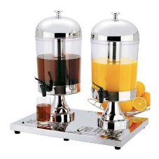 Regalware® KPW9502 S/S 8.5 Qt Dual Beverage Dispenser