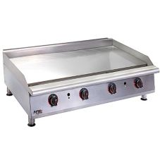 APW Wyott HTG-2424 Cookline H/D Countertop Thermostatic Gas Griddle