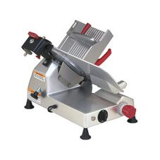 "Berkel 827E Gravity Feed Meat Slicer With 12"" Knife And Sharpener"