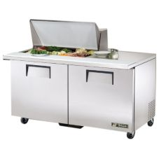 True® Mega-Top S/S 15.5 Cu Ft 15-Pan Top Sandwich / Salad Unit