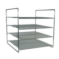 APW Wyott® HDC-4 / HDC-4P 4-Shelf Flat Food Rack