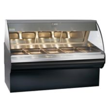 Alto-Shaam HN2SYS-72/P-SS Halo Heat Open Front Self-Serve Deli Display